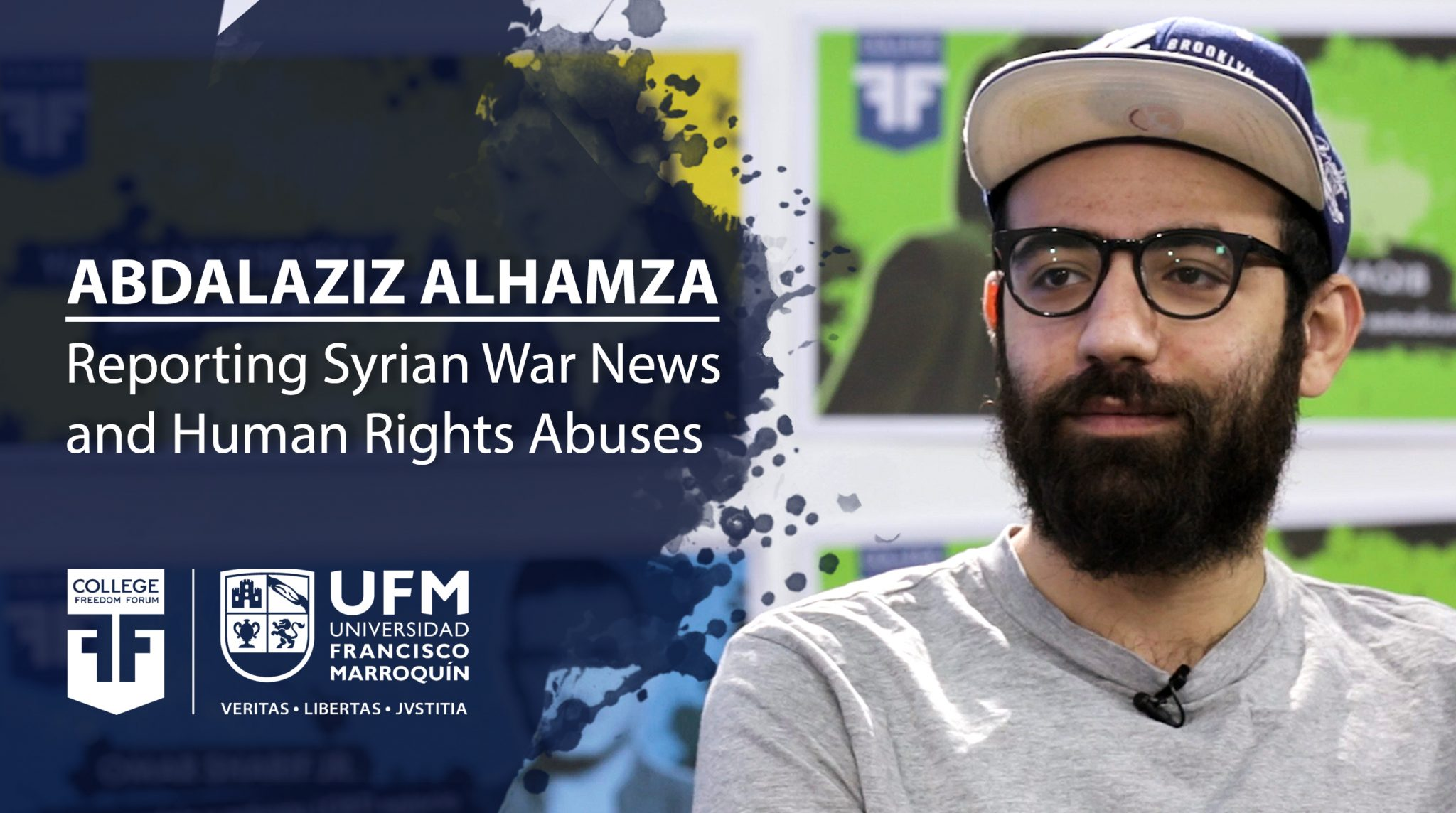 Abdalaziz Alhamza Reporting Syrian War News And Human Rights Abuses