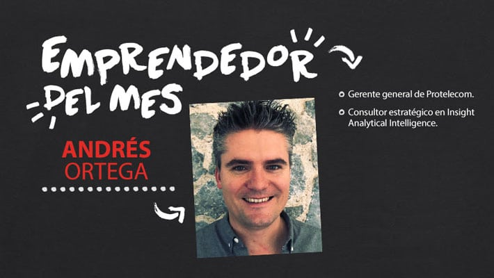 Emprendedor del mes: Andrés Ortega, cofundador de Insight Analytical Intelligence